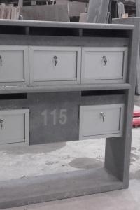 brievenbus appartement - 2